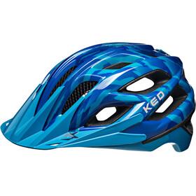 KED Companion Helmet Blue Glossy